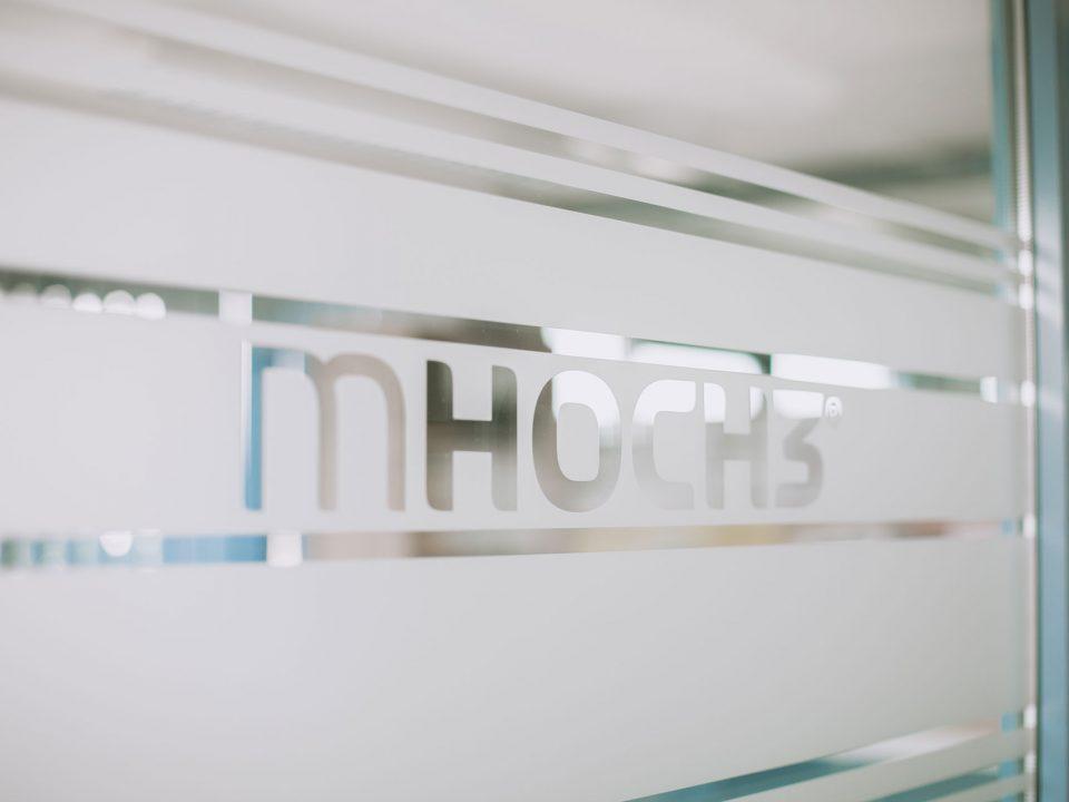 mHOCH3 Installateursfirma: Schaufenster