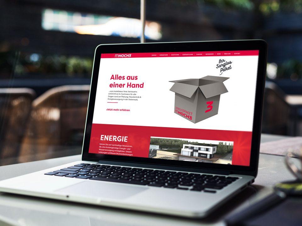 Unsere neue Website ist online - mHOCH3